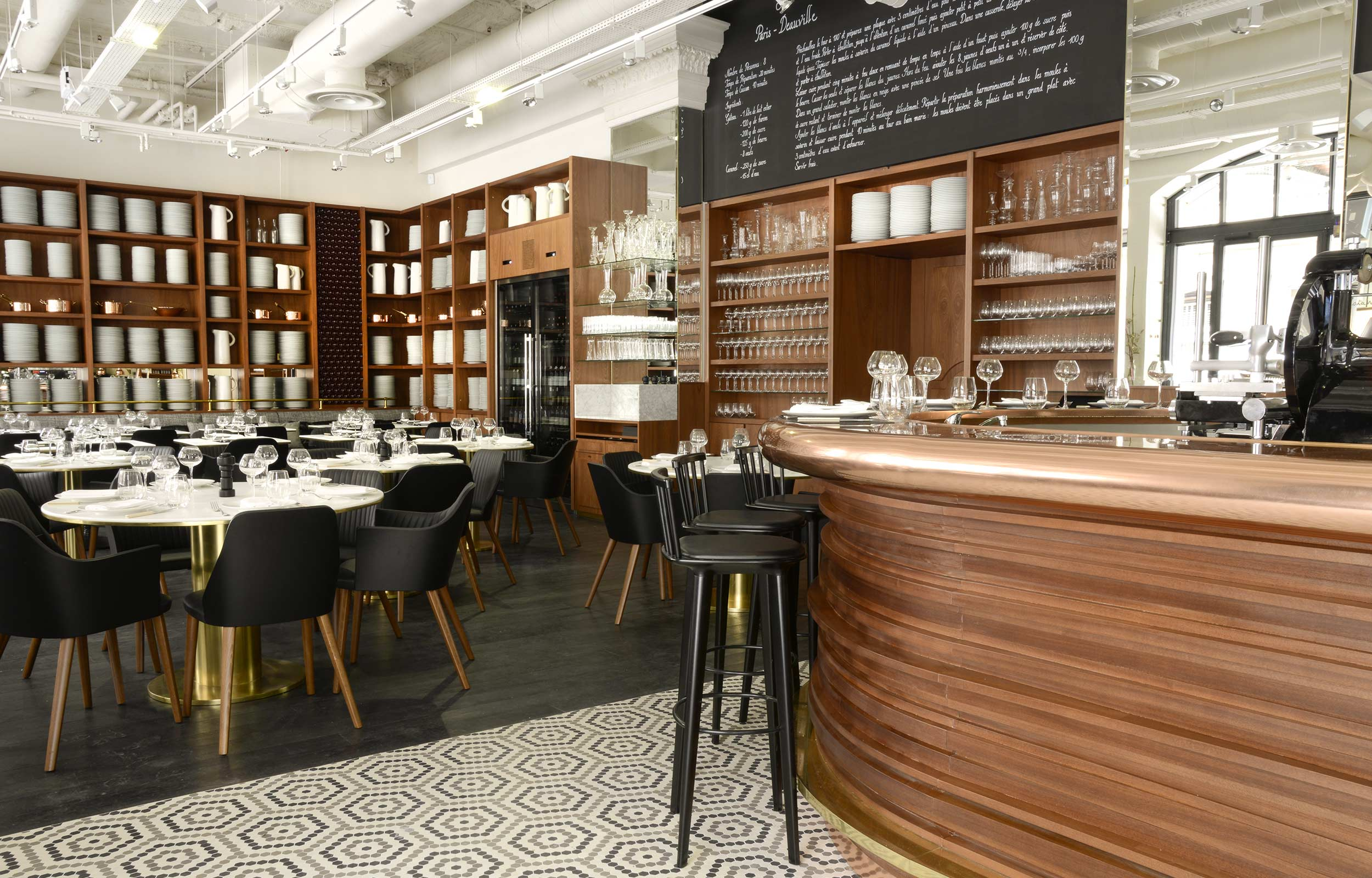 Restaurant lazare paris eric frechon - Restaurant gare saint lazare ...